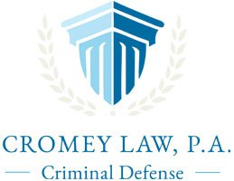 cromey law logo, criminal defense attorney